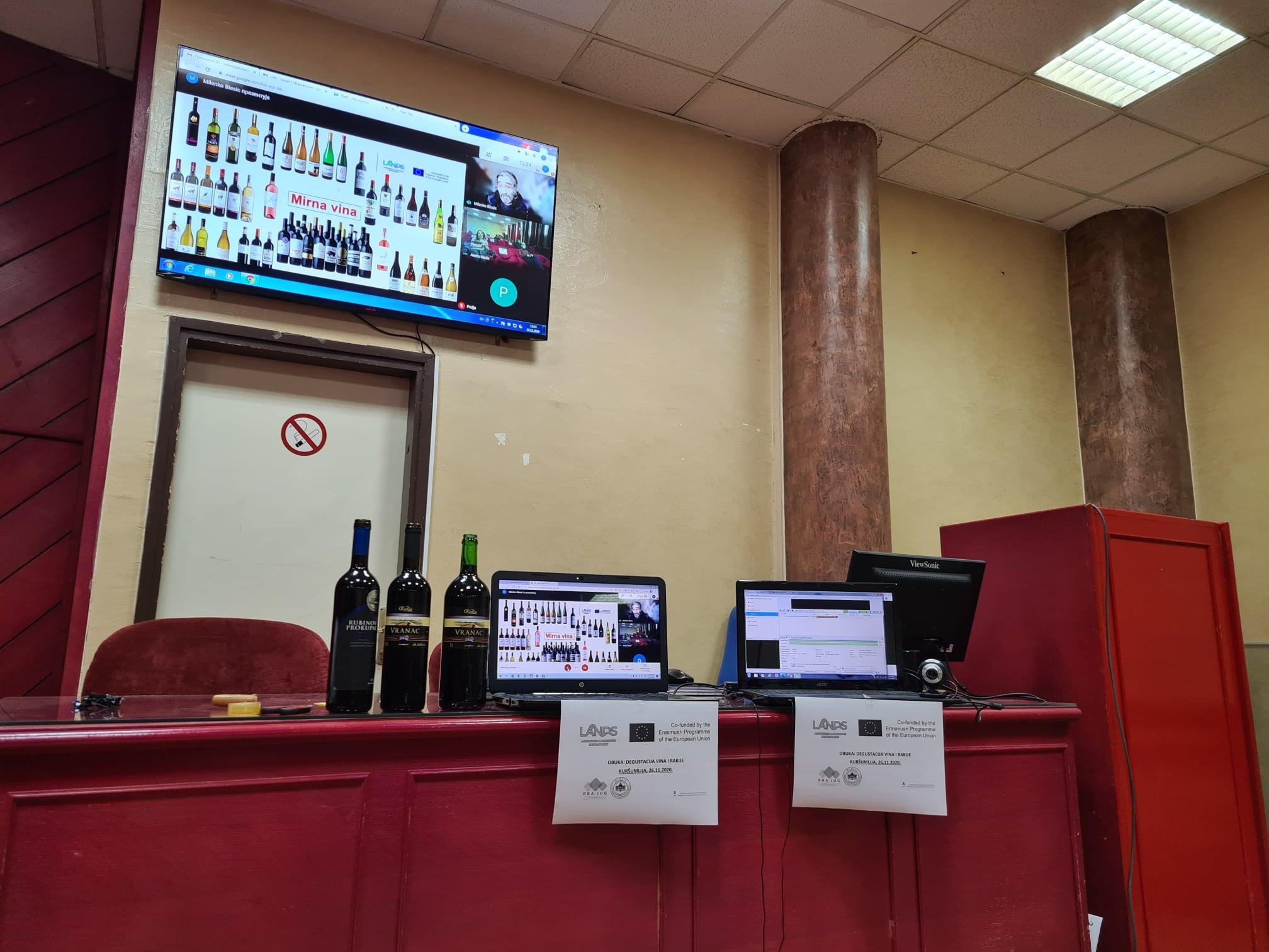 Degustacija, prezentacija i prodaja vina i rakije – vinski turizam – 1