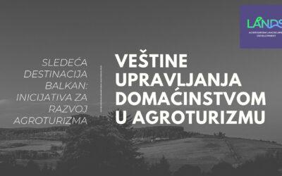 Obuke za delatnike u agroturizmu – LANDS projekat