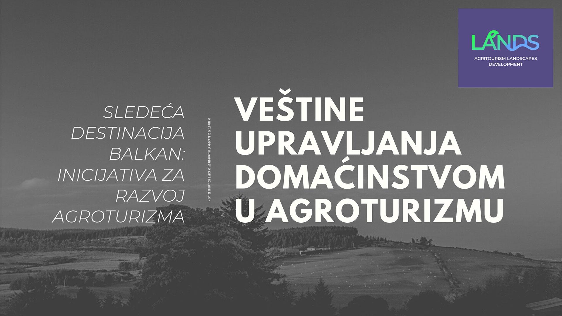 Obuke za delatnike u agroturizmu